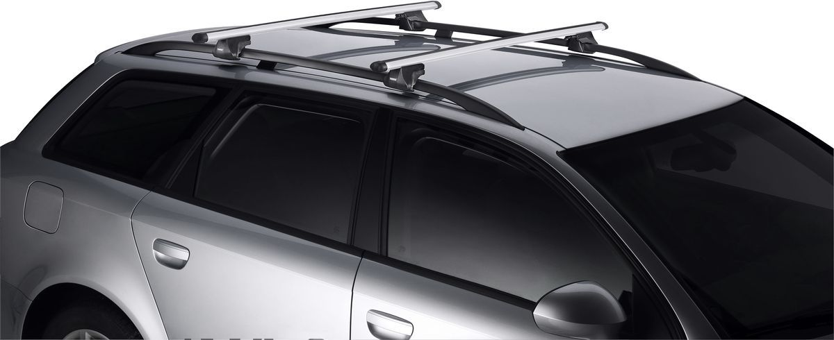 Дуги багажные Thule SmartRack, аэродинамические, длина 120 см, 2 шт. 794794Багажные дуги Thule SmartRack - удобный в применении багажник с полным комплектом узлов. Изделие успешно прошло испытание City Crash до 75 кг согласно нормативам ISO. Закрывается с помощью специального входящего в комплект инструмента. Резиновая накладка защищает поверхность рейлинга от царапин. Полный комплект включает четыре опоры и две дуги.Ширина груза: 120 см.Максимальная нагрузка: 75 кг. Проверьте также максимально допустимую нагрузку для крыши вашего автомобиля.