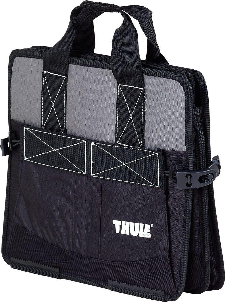 Комплект сумок Thule Go Pack Set, 8002 х 3 шт + 8001 х 1 шт. 8006300194_фиолетовый/веткаThule GoPack Set 8006 - Полный набор из четырех сумок для оптимального использования пространства грузового бокса.