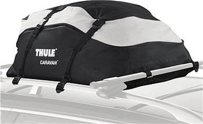 Сумка грузовая Thule Caravan, 250 л. 857K100Thule Caravan 857 - Просторная сумка для укладки груза в грузовую корзину Thule.