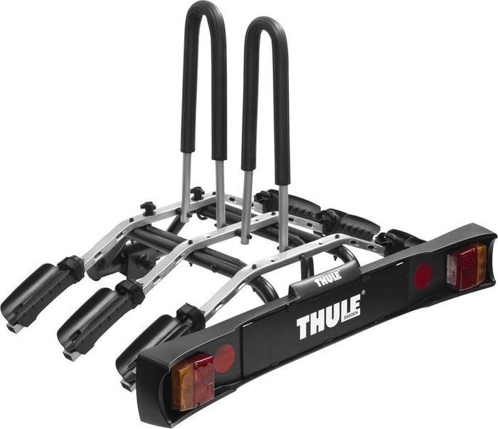 Велобагажник на фаркоп Thule RideOn, для перевозки 3 велосипедов. 95039503Thule RideOn - откидное крепление для трех велосипедов.Особенности:- Наклон, выполняемый вручную, позволяет получить доступ к багажнику, даже если велосипеды установлены.- Удобное соединение, подходит для большинства фаркопов.- Положение велосипедов фиксируется с помощью мягких ремней.Максимальное количество велосипедов: 3.Грузоподъемность: 45 кг.Максимальный вес велосипеда: 15 кг.Размеры: 105 x 75 x 70 см.Размеры в сложенном виде: 106 x 77 x 25 см.Вес: 12 кг.Расстояние между велосипедами: 19 см.