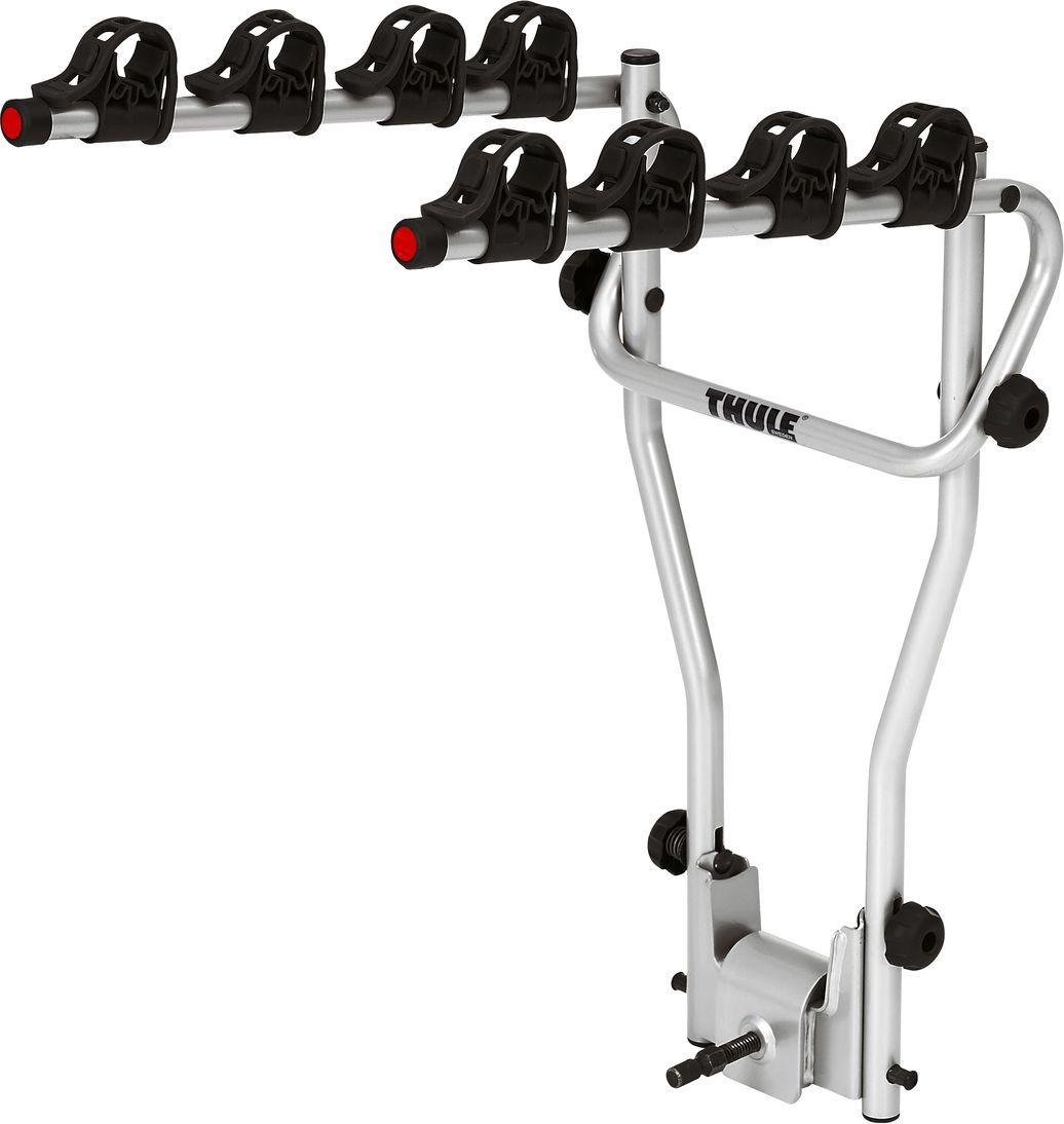 Велобагажник на фаркоп Thule HangOn, для 3 велосипедов, с функцией наклона. 972972Thule HangOn - откидное крепление для трех велосипедов.Особенности: - Прочное соединение, которое не требует предварительной регулировки для фиксации.- Мягкие защитные держатели рам удерживают велосипеды в установленном положении.- Функция наклона для обеспечения легкого доступа к багажнику с установленными велосипедами.- Компактно складывается для простоты хранения и переноски.- Подходит для всех велосипедов, включая подростковые модели с колесами размером 20.Максимальное количество велосипедов: 3.Грузоподъемность: 45 кг.Максимальный вес велосипеда: 15 кг.Размеры: 48 x 55 x 76 см.Размеры в сложенном виде: 48 x 16 x 81 см.Вес: 7,2 кг.