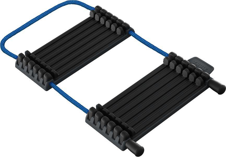 Адаптер Thule, для карбоновой рамы велосипеда. 984984Thule - переходник для безопасной транспортировки велосипедов с карбоновой рамой. Подходит для рам любых параметров и легко регулируется без съемных деталей. Мягкая резиновая подкладка переходника из TPE защищает велосипедную раму от царапин. Благодаря адаптер Thule давление при фиксации распределяется по большой площади для минимизации риска повреждения рамы.Следует использовать только в сочетании с велосипедными креплениями Thule с ограничителем крутящего момента (например, Thule ProRide 598, Thule EasyFold, Thule EuroClassic G6, а также велосипедными креплениями с дополнительной ручкой Thule AcuTight Knob 528).