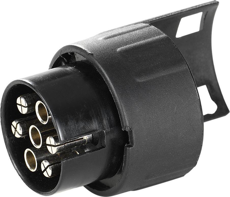 Переходник контактов для велобага Thule, электрический, разъем с 7 (автомобиль) на 13 (багажник). 9906Z90 blackThule Adapter 9906 - Преобразовывает 7-ми контактную электрическую розетку в 13-ти контактную