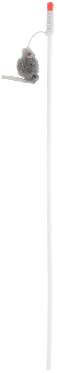 Игрушка-дразнилка для кошек Грызлик Ам Мышь, длина 118 смGLG054_синий, коричневыйИгрушка-дразнилка для кошек Грызлик Ам Мышь способна расшевелить даже самого ленивого питомца, заставляя его двигаться, тем самым способствует развитию его мускулатуры и улучшению координации движений. Игрушка изготовлена из натуральных и экологически чистых материалов, прочная и безопасная как для взрослых кошек, так и для котят.Общая длина игрушки: 118 см.