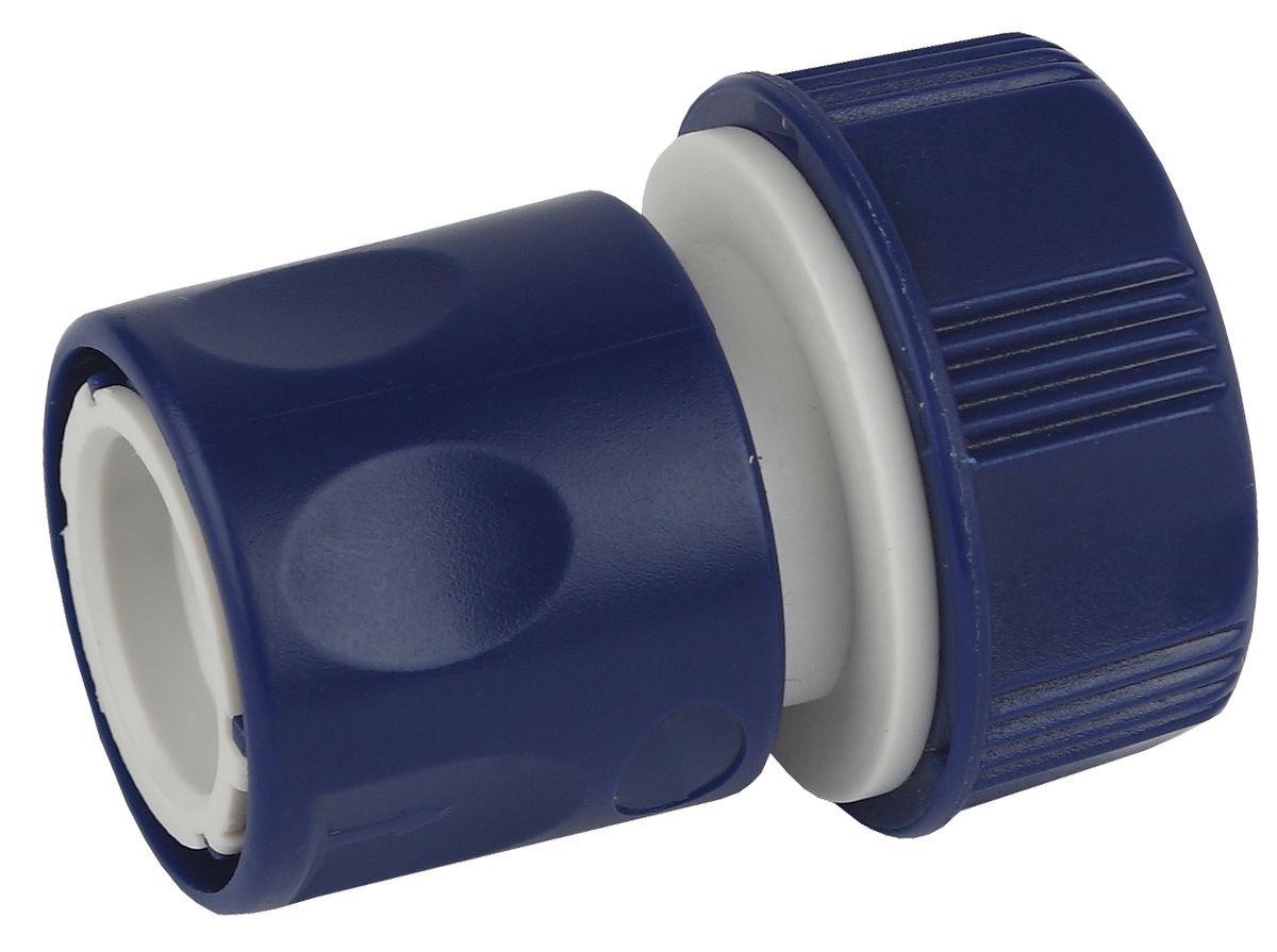 Коннектор для шланга Green Apple ЕСО, 19 мм (3/4)А00319Применяется для быстрого и надежного соединения поливочного шланга с насадкой, адаптером, переходником или тройником
