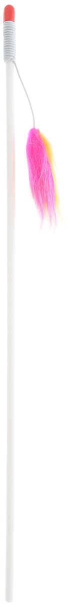 Игрушка-дразнилка для кошек Грызлик Ам Пушистый хвостик, длина 123 смGR01BИгрушка-дразнилка для кошек Грызлик Ам Пушистый хвостик способна расшевелить даже самого ленивого питомца, заставляя его двигаться, тем самым способствует развитию его мускулатуры и улучшению координации движений. Игрушка изготовлена из натуральных и экологически чистых материалов, прочная и безопасная как для взрослых кошек, так и для котят.Общая длина игрушки: 123 см.