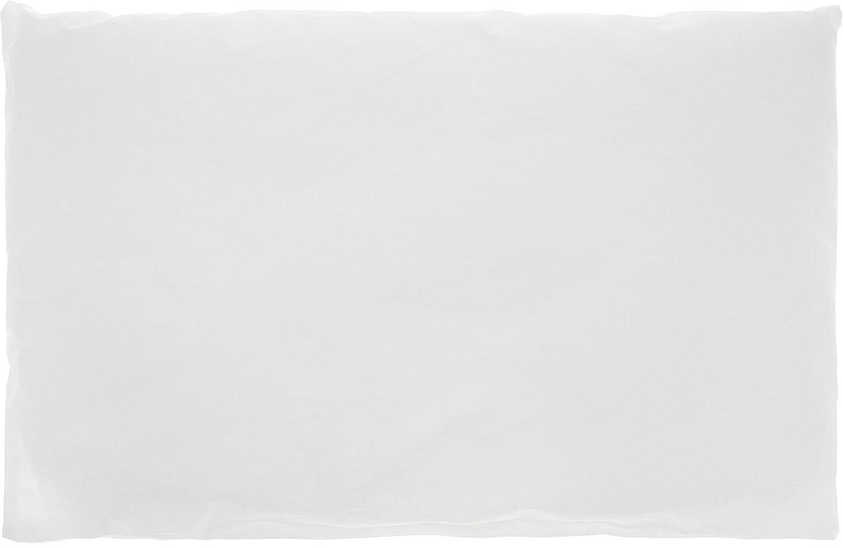 Сонный гномик Подушка детская цвет белый 60 х 40 см531-105Детская подушка Сонный гномик изготовлена из бязи - 100% хлопка и создана для комфортного сна вашего малыша.Гипоаллергенные ткани - это залог спокойствия, здорового сна малыша и его безопасности. Наполнитель (100% полиэстер) позволит коже ребенка дышать, создавая естественную вентиляцию. Мягкий и воздушный, он будет правильно поддерживать головку ребенка во время сна. Ткань наволочки - нежная и одновременно износостойкая - прослужит вам долгие годы.Уход: не гладить, только ручная стирка, нельзя отбеливать, нельзя выжимать и сушить в стиральной машине, химчистка запрещена.