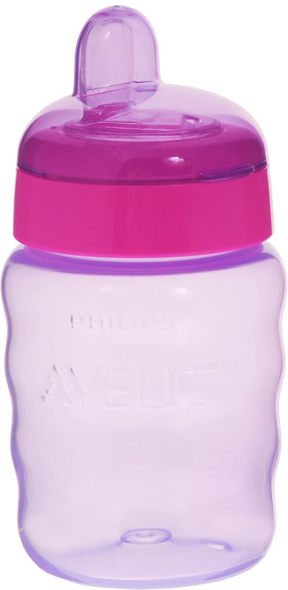 Philips Avent Поильник-непроливайка Comfort от 9 месяцев цвет фиолетовый малиновый 260 мл SCF553/00