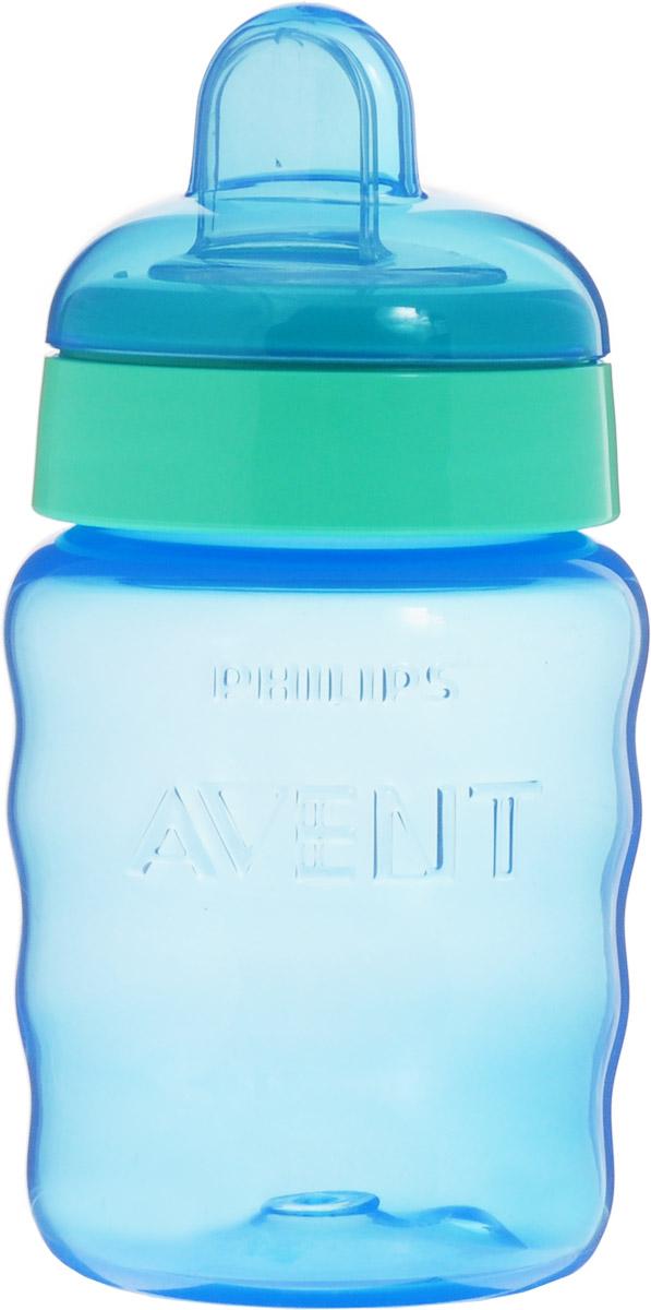 Philips Avent Поильник-непроливайка Comfort от 9 месяцев цвет голубой мятный 260 мл SCF553/00