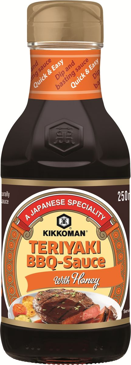 Kikkoman соус-барбекю Teriyaki с медом, 250 мл fruin fruin kikkoman company clan