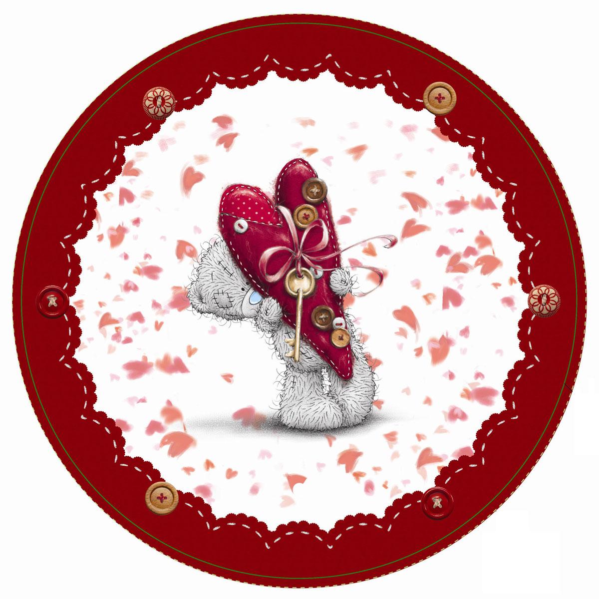 Amscan Тарелка Me To You 23 см 8 шт -  Сервировка праздничного стола