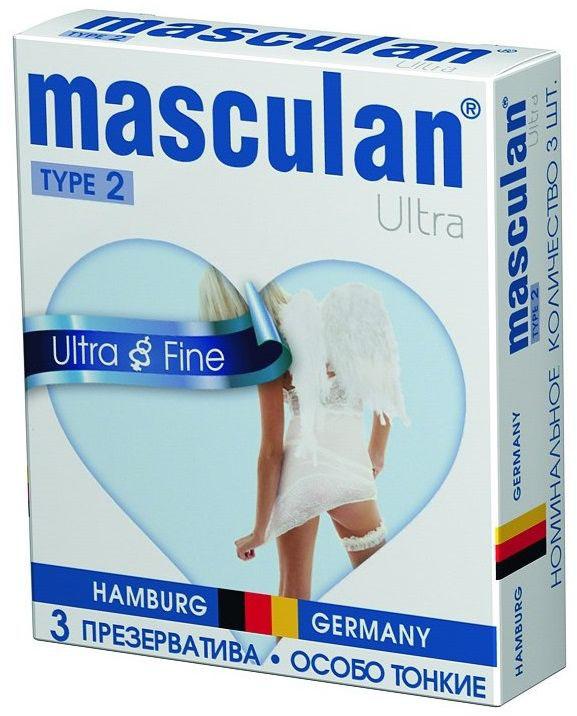 Masculan Презервативы 2 Ultra №3, особо тонкий, прозрачный с обильной смазкой11751Сверхтонкие презервативы прозрачного цвета с обильной смазкой. Максимально обеспечивают естественные ощущения во время полового акта. Предназначены для предохранения от нежелательной беременности и защиты от заболеваний, передающихся половым путем. Продукция Маскулан по качеству изделия и упаковки является товаром премиум класса, однако позиционируется бренд в среднем ценовом сегменте, предоставляя высокое качество изделия по доступной основной массе населения цене. Презервативы Masculan значительно превосходят требования ГОСТа по многим характеристикам (длина, сила на разрыв и т.д.)