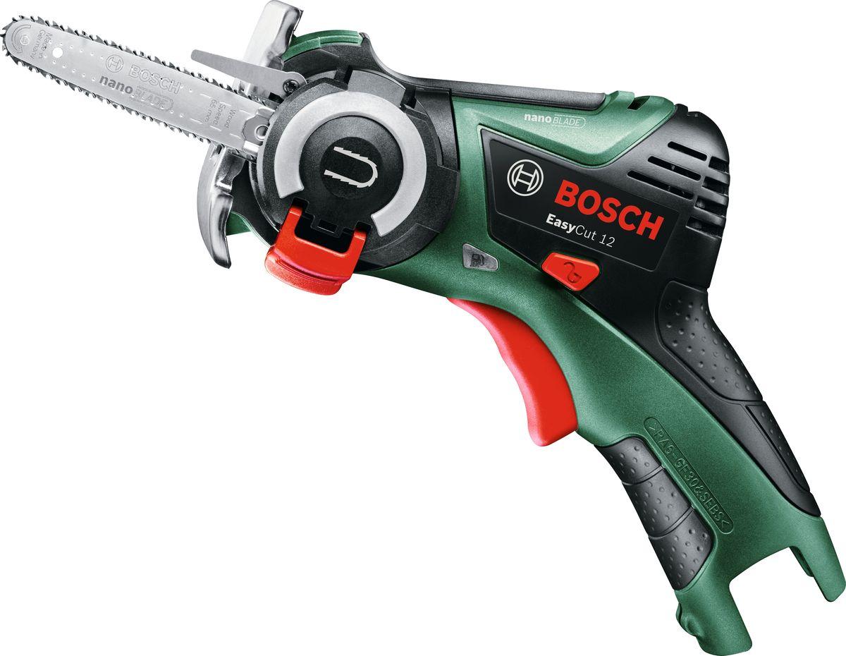 Пила аккумуляторная мини-цепная Bosch EasyCut 12. 06033C9020
