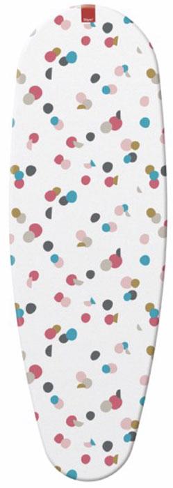 Чехол для гладильной доски Rayen  Кружочки , цвет: белый, 45 х 130 см - Гладильные доски