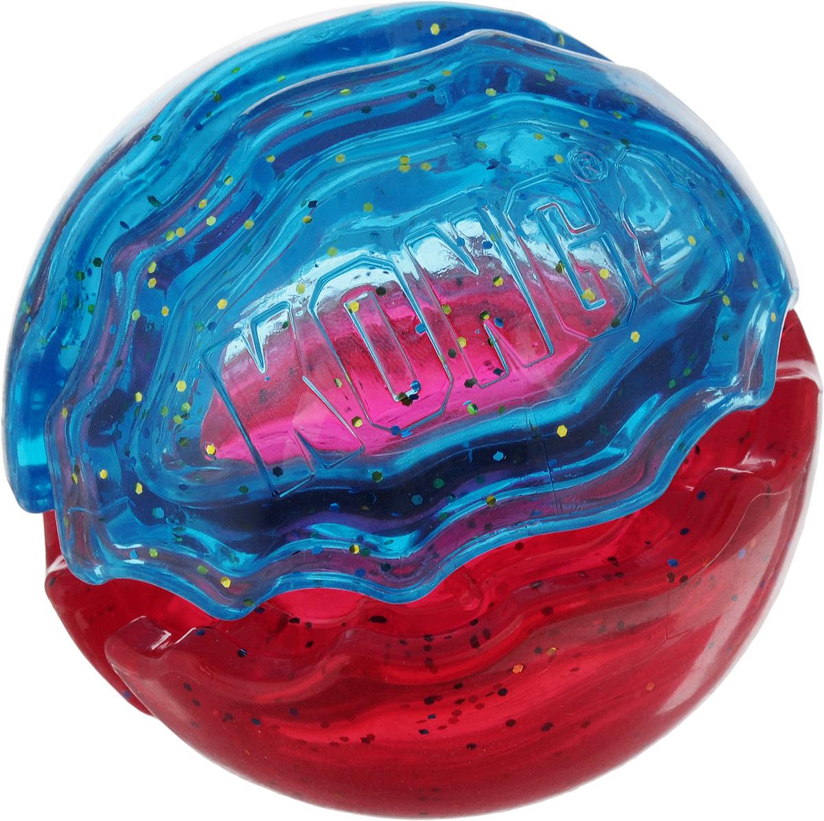 Игрушка для собак Kong Duets. Мячик, цвет: красный, бирюзовый, диаметр 9 см0120710Игрушки Kong Duets. Мячик - двойное удовольствие для собак. Она выполнена из высококачественной резины. Такую игрушку можно использовать в разнообразных совместных играх, уникальный дизайн подходит для заполнения гранулами корма или лакомства. Вызывает интерес у собак, стремящихся извлечь из них лакомства.