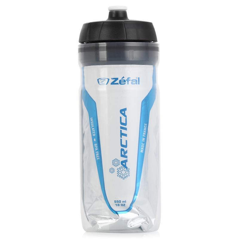 Фляга велосипедная Zefal Arctica 55, изотермическая, цвет: белый, 550 млRivaCase 8460 blackФляга Zefal Arctica 55 имеет двухслойную конструкцию с прослойкой из металлизированного полиэтилена, благодаря чему она сохраняет температуру напитка до 2,5 часов. Фляга выполнена из пищевого полипропилена, который не содержит BPA, не имеет запаха, не влияет на вкус напитка и на 100% безопасен. • Подходит ко всем флягодержателям• Максимальная температура напитка 80°C• Удерживает температуру напитка до 2,5 часов ZEFAL – старейший французский производитель велосипедных аксессуаров премиального качества, основанный в 1880 году, является номером один на французском рынке велосипедных аксессуаров.
