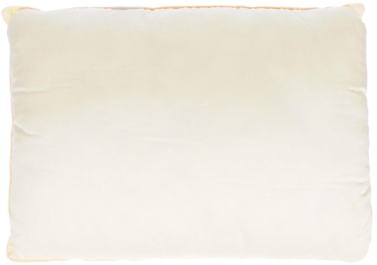 German Grass Подушка Kinder Elite Grass 50 х 68 см96281496Мягкая подушка Kinder Elite Grass предназначена для детей от 3 лет. Она изготовлена из нежного сатина цвета шампань и украшена золотистым шелковым кантом. Наполнитель - специально разработанное полое 4-L волокно - эффективно защищает постель от пылевых клещей, бактерий и грибков. Гладкая, нежная и мягкая ткань Modal, полученная из 100% целлюлозы бука произведена без применения хлорсодержащих веществ и безопасна для малышей. Гипоаллергенно.