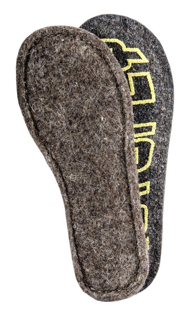 Стельки для обуви Котофей, цвет: серый. 01004002-11. Размер 24MW-3101Традиционная войлочная стелька по инновационной технологии с противоскользящим покрытием, простроченная по периметру с петлей для легкого извлечения из обуви.