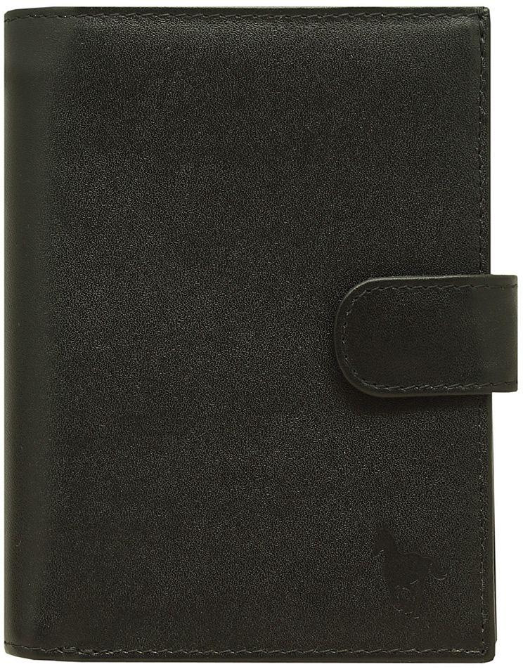 Обложка для документов мужская Dimanche RFID, цвет: черный. 930B16-11416Обложка для документов Dimanche RFID защитит от бесконтактной кражи. В качестве подкладки использован материал, блокирующий считывание персональных данных, которые хранятся на микрочипах RFID в паспорте, банковских картах и ID-картах. Обложка выполнена из натуральной кожи. На внутреннем развороте кожаные клапаны-карманы. Закрывается хлястиком на кнопку. Упакована в картонную подарочную коробку.