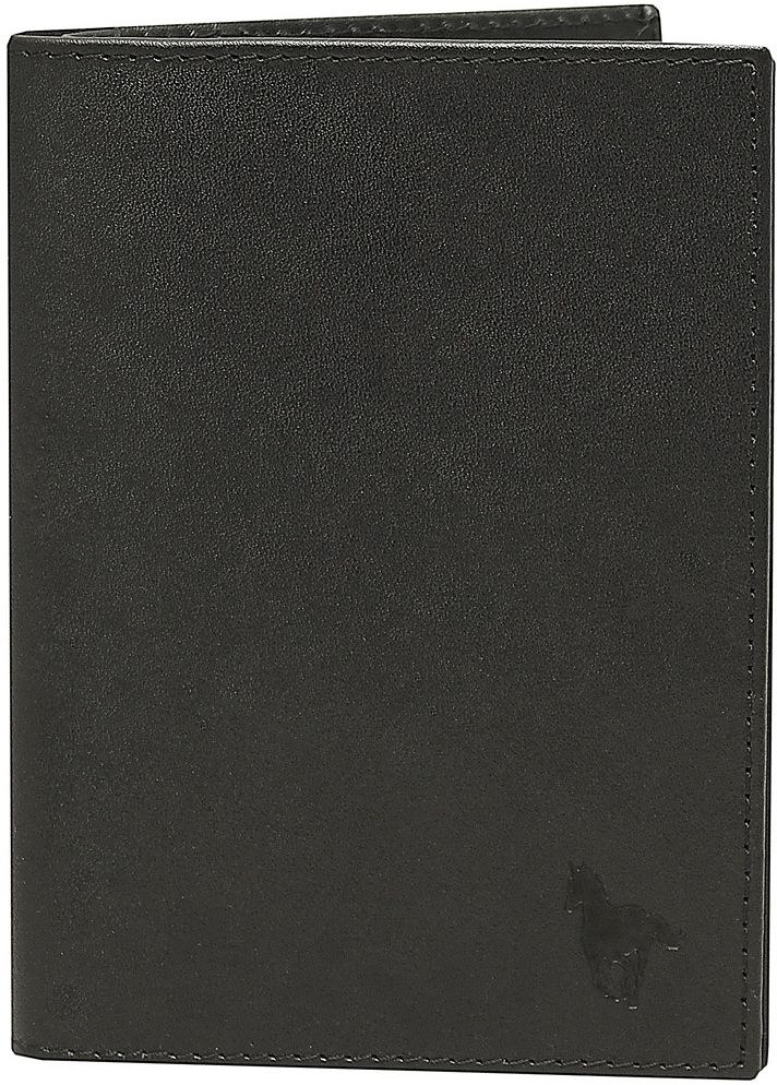 Обложка для документов мужская Dimanche RFID, цвет: черный. 931INT-06501Защищает от бесконтактной кражи! В производстве изделия в качестве подкладки использован материал, блокирующий считывание персональных данных, которые хранятся на микрочипах RFID в паспорте, банковских картах и ID-картах. Бумажник выполнен из натуральной кожи, внутри имеется 4 кармана для визиток/кредиток, карман для sim карты, вертикальный карман и специальное отделение для паспорта . Пластиковый блок для автодокументов. Упакован в подарочную картонную коробку.