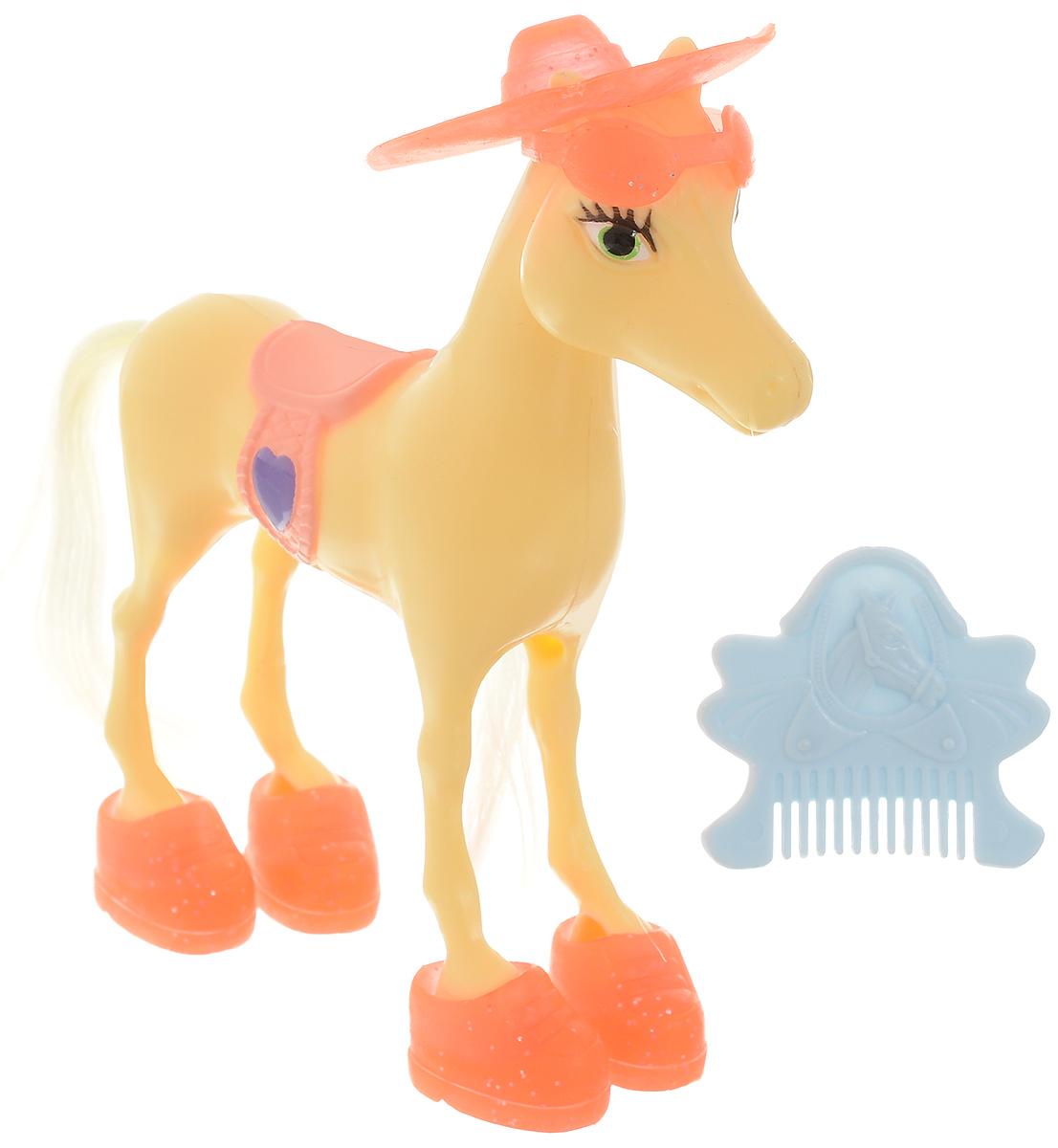 Simba Фигурка Волшебная лошадка цвет желтый