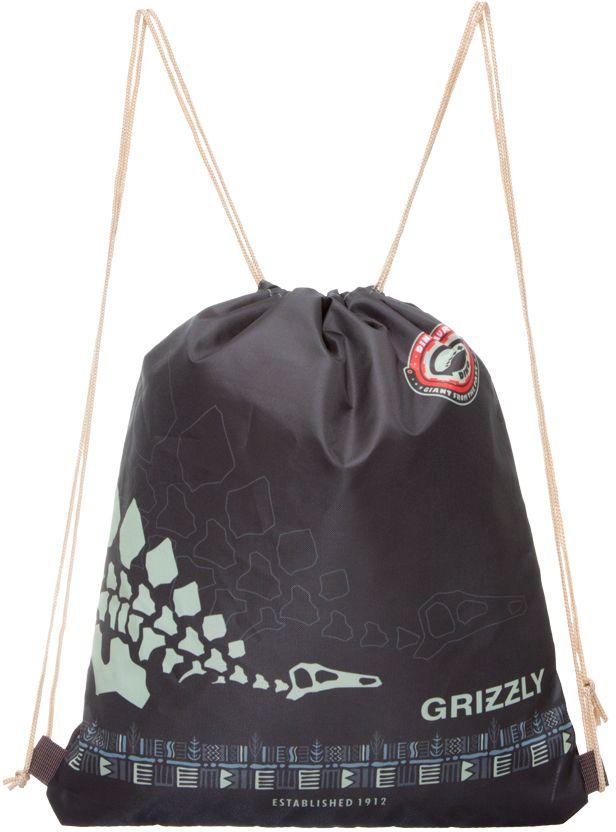 Grizzly Мешок для обуви цвет коричневый OM-675-272523WDМешок для обуви, одно отделение, лямки из шнура.