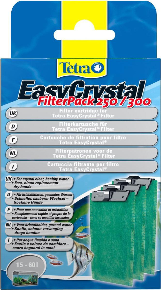 Фильтрующие картриджи Tetra EC 250/300, для внутренних фильтров EasyCrystal 250/30, 3 шт151581Набор фильтрующих картриджей без угля. Фильтрующий картридж предназначен для применения во внутренних фильтрах. В комплекте предусмотрено наличие трех губок, которые подходят для фильтрационных установок EasyCrystalFilter 250 и EasyCrystal FilterBox 300. Двусторонняя фильтрующая прослойка надёжно удаляет мельчайшие песчинки и частички грязи. Белая поверхность губки предназначена для выполнения предварительной фильтрации, а зелёная - для тщательного фильтрования воды.Уважаемые клиенты!Обращаем ваше внимание на возможные изменения в дизайне упаковки. Качественные характеристики товара остаются неизменными. Поставка осуществляется в зависимости от наличия на складе.