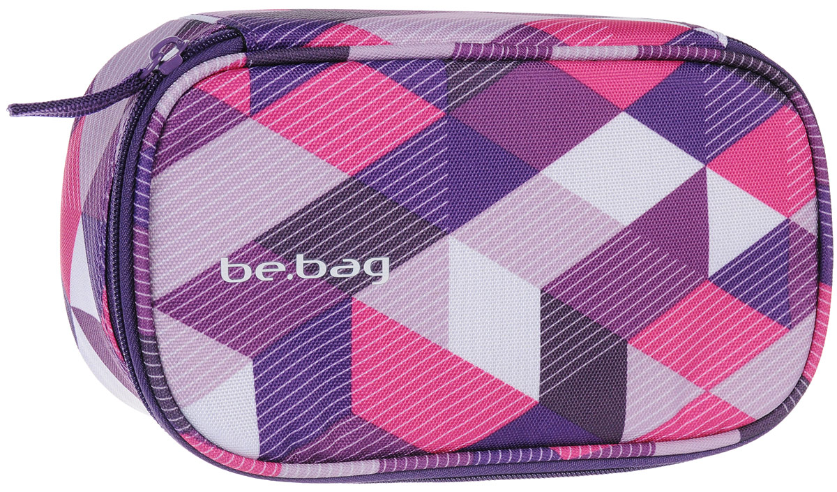 Herlitz Пенал New Checked Purple72523WDПенал Herlitz серии Be.Bag New Checked Purple выполнен из прочного материала и закрывается на застежку-молнию. Состоит из одного вместительного отделения. Внутри пенала находятся эластичные крепления для канцелярских принадлежностей.Этот пенал станет не только практичным, но и стильным школьным аксессуаром для любого ребенка.