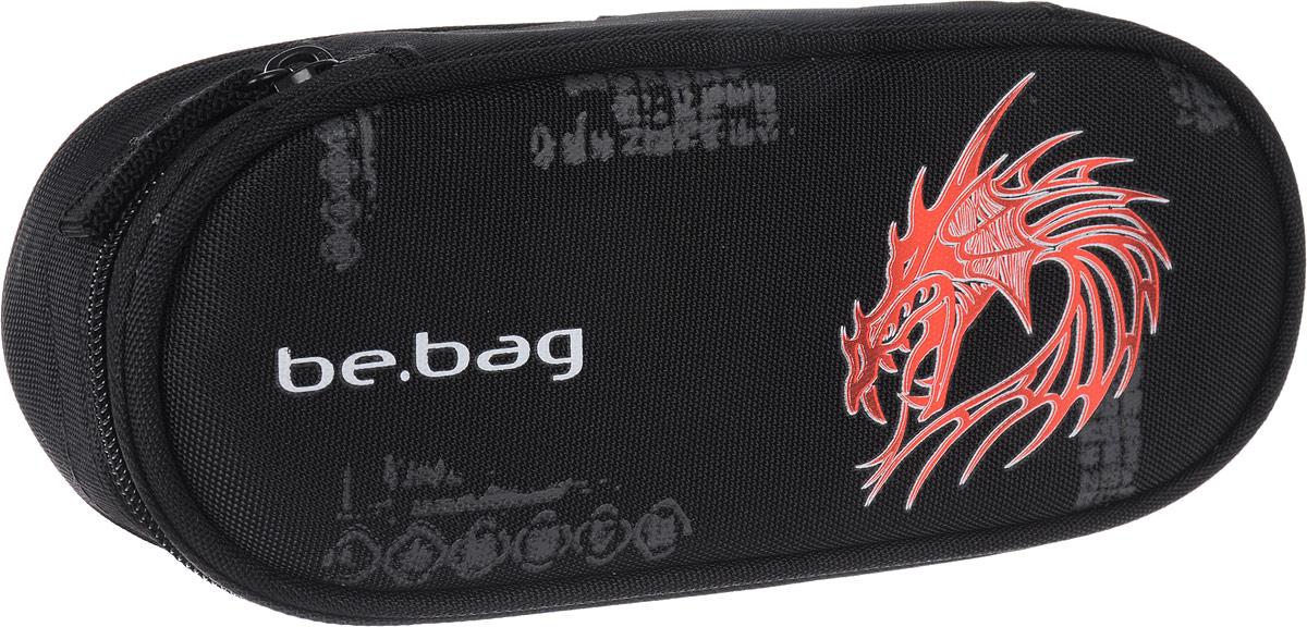 Herlitz Пенал Dragon72523WDПенал в виде косметички Herlitz серии Be.Bag Airgo Dragon выполнен из прочного материала и закрывается на застежку-молнию. Состоит из одного вместительного отделения. Внутри пенала находятся эластичные крепления для канцелярских принадлежностей.Этот пенал станет не только практичным, но и стильным школьным аксессуаром для любого ребенка.