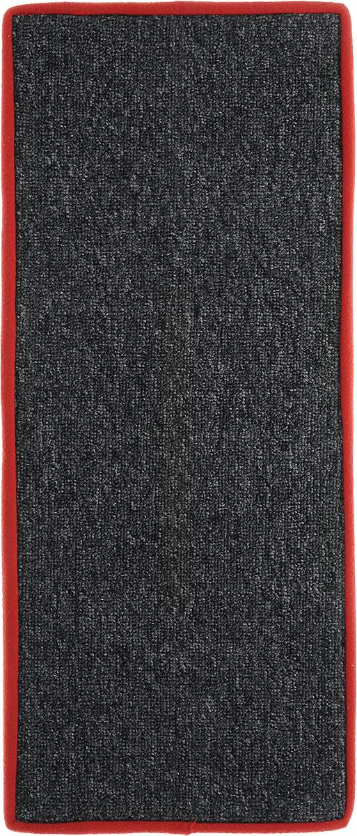 Когтеточка угловая Грызлик Ам, с пропиткой, цвет: серый, красный, 67 x 17 смК705Ла_бежевый, черные лапкиУгловая когтеточка Грызлик Ам предназначена для стачивания когтей вашей кошки и предотвращения их врастания. Изделие выполнено из ДВП и ковролина, края отделаны искусственным мехом. Изделие снабжено специальными отверстиями для крепления. Ковролин обеспечивает естественный уход за когтями питомца. Специальная пропитка привлекает внимание кошки. Такая когтеточка позволит сохранить неповрежденными мебель и другие предметы интерьера. Угловая когтеточка может крепиться на смежных поверхностях стен и пола.
