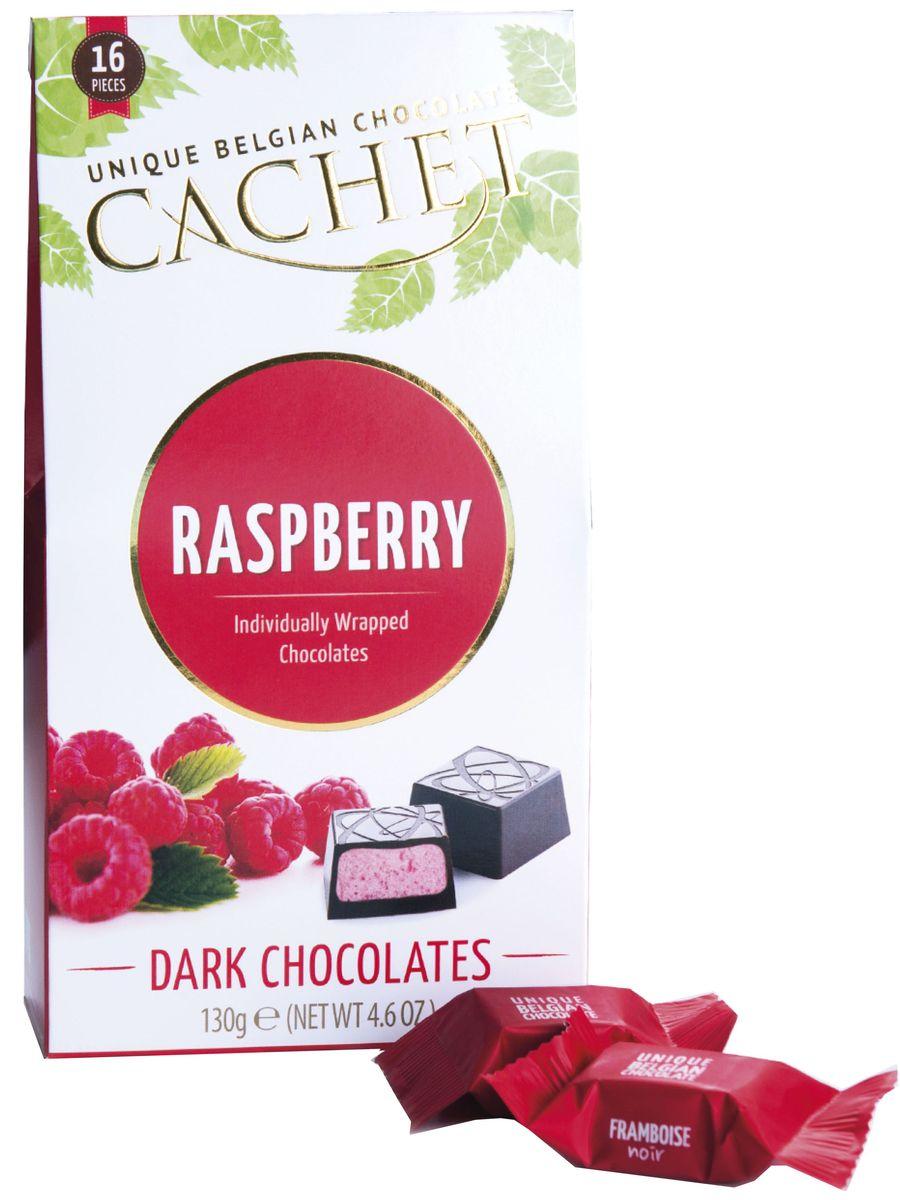 Cachet конфеты шоколадные из темного шоколада со вкусом и ароматом малины, 130 гМС-00008199Шоколадные конфеты из темного бельгийского шоколада со вкусом и ароматом малины Cachet подходят для романтического ужина и в качестве подарка. Продукция компании популярна во всем мире благодаря своему высокому качеству и изысканному дизайну. Вся продукция Kim's Chocolates NV изготавливается по оригинальной старинной бельгийской рецептуре, которая придает шоколаду незабываемый и неповторимый вкус.Лучшие ингредиенты, современные технологии и строгий контроль на всех этапах производства гарантируют высокое качество продукции Kim's Chocolates NV.