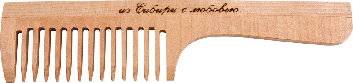 Расческа деревянная. РД3201