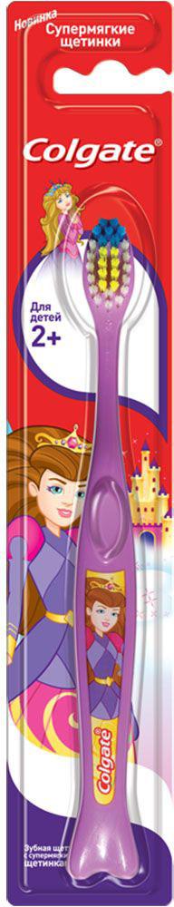 Colgate Зубная щетка Для детей 2+, супермягкая, цвет: сиреневый4024540Зубная щетка Colgate Для детей 2+ рекомендована для детей от 2 лет и старше с передними молочными и прорезывающимися задними зубами. Закругленная головка поможет бережно очистить даже труднодоступные места, а яркий дизайн превратит скучную процедуру в увлекательную игру. Стоматологи и гигиенисты рекомендуют менять зубную щетку каждые 3 месяца.Товар сертифицирован.