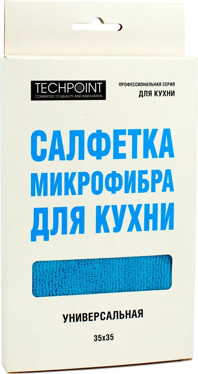 Салфетка Techpoint, универсальная, 35 х 35 смPANTERA SPX-2RSСалфетки микрофибра для кухни.Универсальная