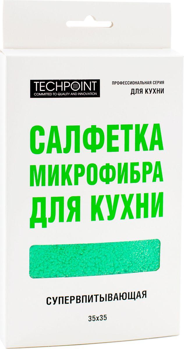 Салфетка Techpoint, супервпитывающая, 35 х 35 см787502Салфетки микрофибра для оптики.