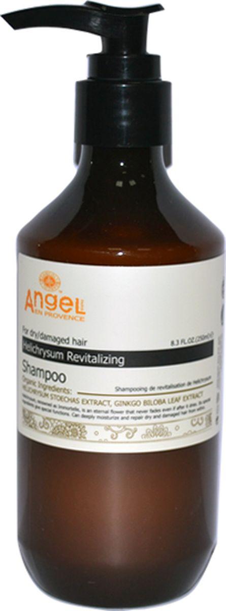 Angel Provence Шампунь восстанавливающий Бессмертник, 250 мл092200005Разработан специально для сухих, поврежденных или вьющихся волос. Шампунь содержит экстракт бессмертника и витамины