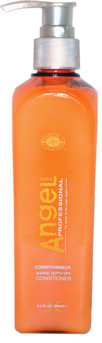 Angel professional Кондиционер для волос, 250 млFS-00897Содержит в себе эссенцию морских водорослей, для защиты и восстановления, морской коллаген для глубокого увлажнения и аккумуляции влаги внутри волоса, фруктовые кислоты и масла для работы по поверхности волоса. Обладает способностью удерживать влагу и создавать природный натуральный блеск.