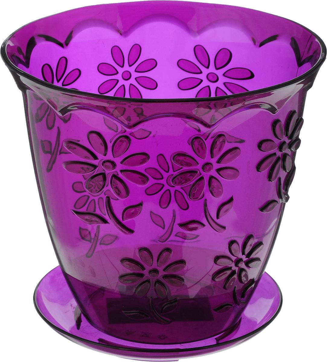 Горшок Альтернатива Соблазн, для орхидеи, цвет: фиолетовый, 1,5 л531-402Любой, даже самый современный и продуманный интерьер будет не завершённым без растений. Они не только очищают воздух и насыщают его кислородом, но и заметно украшают окружающее пространство. Такому полезному &laquo члену семьи&raquoпросто необходимо красивое и функциональное кашпо, оригинальный горшок или необычная ваза! Мы предлагаем - Горшок для орхидей 1,5 л Соблазн, цвет фиолетовый!Оптимальный выбор материала &mdash &nbsp пластмасса! Почему мы так считаем? Малый вес. С лёгкостью переносите горшки и кашпо с места на место, ставьте их на столики или полки, подвешивайте под потолок, не беспокоясь о нагрузке. Простота ухода. Пластиковые изделия не нуждаются в специальных условиях хранения. Их&nbsp легко чистить &mdashдостаточно просто сполоснуть тёплой водой. Никаких царапин. Пластиковые кашпо не царапают и не загрязняют поверхности, на которых стоят. Пластик дольше хранит влагу, а значит &mdashрастение реже нуждается в поливе. Пластмасса не пропускает воздух &mdashкорневой системе растения не грозят резкие перепады температур. Огромный выбор форм, декора и расцветок &mdashвы без труда подберёте что-то, что идеально впишется в уже существующий интерьер.Соблюдая нехитрые правила ухода, вы можете заметно продлить срок службы горшков, вазонов и кашпо из пластика: всегда учитывайте размер кроны и корневой системы растения (при разрастании большое растение способно повредить маленький горшок)берегите изделие от воздействия прямых солнечных лучей, чтобы кашпо и горшки не выцветалидержите кашпо и горшки из пластика подальше от нагревающихся поверхностей.Создавайте прекрасные цветочные композиции, выращивайте рассаду или необычные растения, а низкие цены позволят вам не ограничивать себя в выборе.