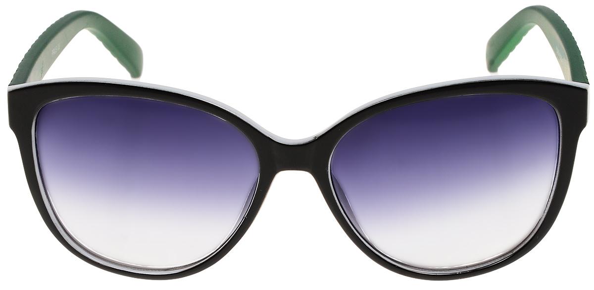 Очки солнцезащитные женские Prius, цвет: белый, зеленый. PH6248_light1-022_516Очки солнцезащитные для активного образа жизни. Основные особенности: Не пропускают вредоносные солнечные лучиПовышают контрастность цветовосприятияНе искажает изображениеЛегкая и комфортная оправаСтильный дизайМатериал: высококачественный пластик, металл