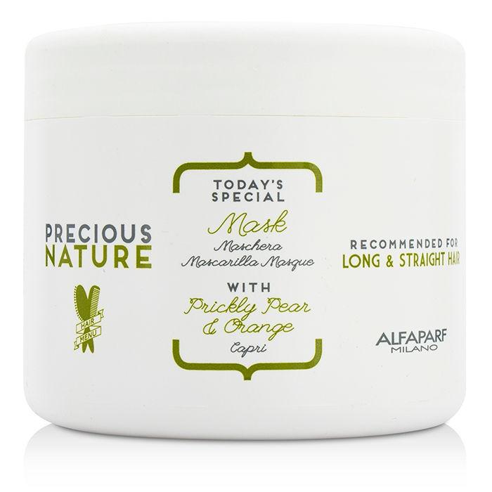 Alfaparf Precious Nature Pure Color Protection Mask Маска для окрашенных волос, 200 млMP59.4DИнтенсивное восстановление для непревзойденной защиты окрашенных волос. Входящая в состав маски эссенция фисташки*, известная своими редкими антиоксидантными и фотозащитными свойствами, в сочетании с маслом сладкого миндаля позволяют уникальной формуле спрея продлить насыщенность цвета и сохранить блеск окрашенных волос, питая и насыщая фибру волоса. *100% натуральный ингредиент. НЕ СОДЕРЖИТ: сульфатов, парабенов, парафинов, минеральных масел, синтетических веществ, аллергенов*гипоаллергенные экстракты растений и ароматизаторыОбъем: 200 мл