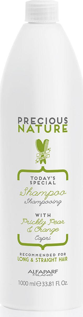 Alfaparf Precious Nature Shampoo for Long and Straight Hair Шампунь для длинных и прямых волос, 1000 мл