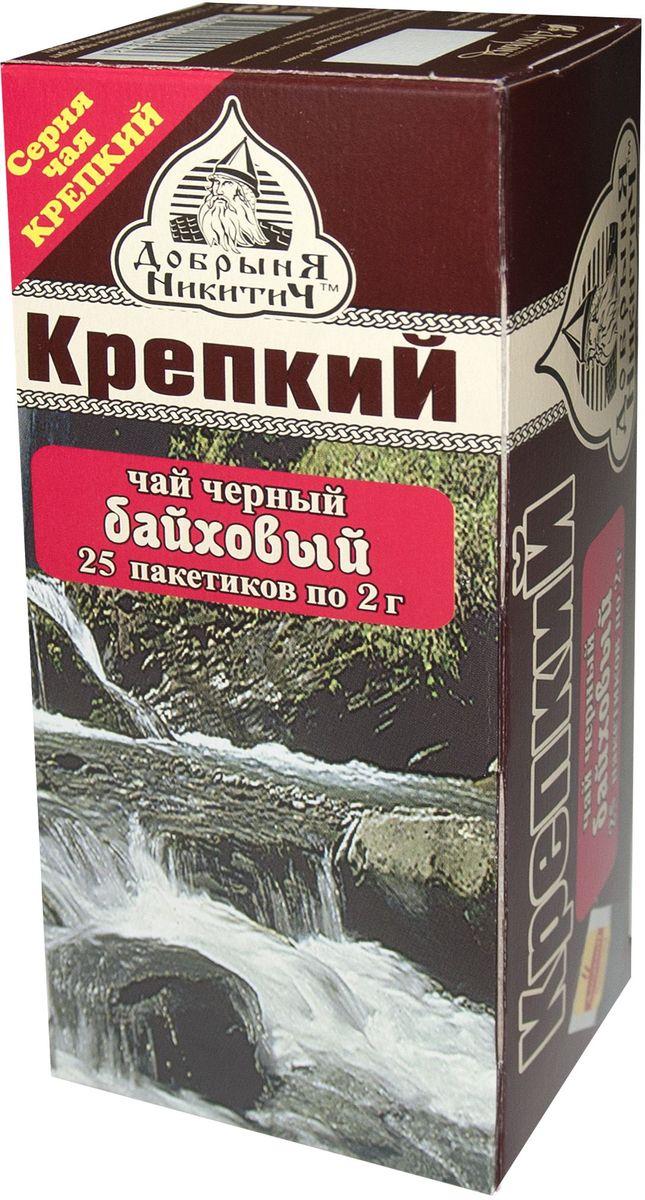 Добрыня Никитич Крепкий чай черный в пакетиках, 25 шт