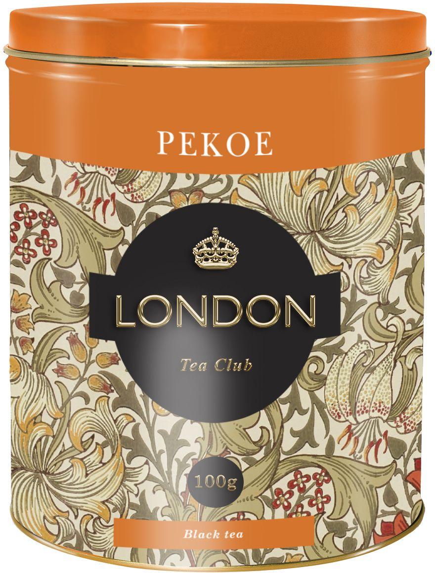 London Tea Club Pekoe черный чай, 100 г4607051542228Классический стандарт Pekoe при заваривании дает умеренной крепости настой с нежным ароматом.