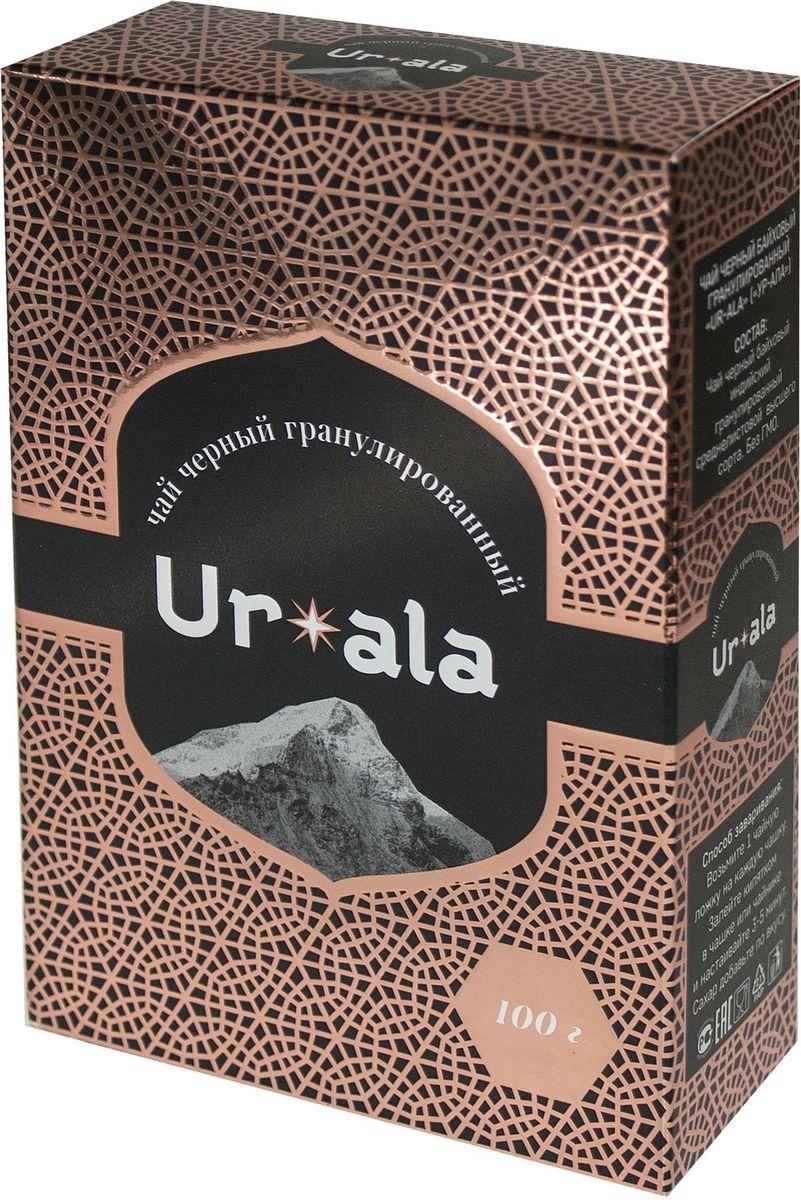 УР-АЛА черный гранулированный чай, 100 г4607051543119Гранулированный чай обладает тонизирующим действием, дает крепкий, насыщенный настой с глубоким терпким вкусом. Отлично подойдет для любителей по-настоящему крепкого чая.