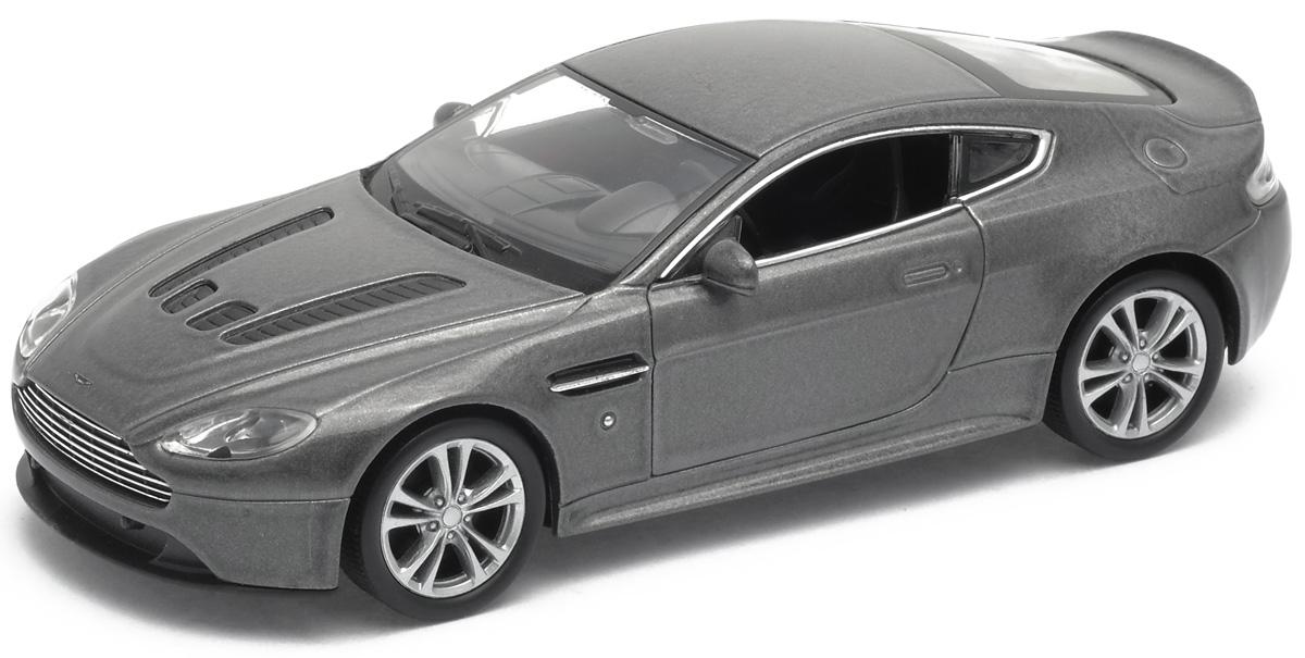 машины welly модель машины 1 24 aston martin vanquish Welly Модель автомобиля Aston Martin V12 Vantage цвет серебристый