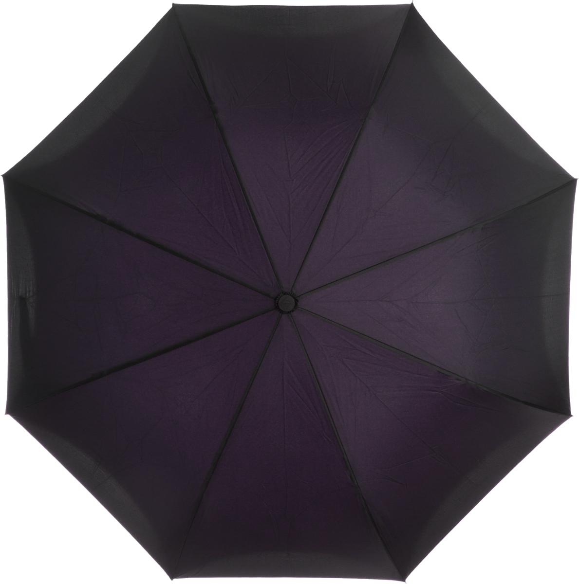 Зонт-трость женский Flioraj, механика, цвет: фиолетовый. 120005 FJКолье (короткие одноярусные бусы)Оригинальный зонт-трость Flioraj надежно защитит вас от дождя. Зонт складывается внутренней (сухой) стороной наружу, избавляя владельца от контакта с мокрой поверхностью. Приходя в незнакомое место у Вас не будет неловкого момента от того, что некуда убрать мокрый зонт - Вы сможете спокойно высушить его позже, закончив свои дела. Зонт Miracle очень удобен для автомобилистов: садясь в машину, Вы аккуратно закрываете зонт, не уронив ни одной капли воды в салоне.Удобная ручка с гипоаллергенным покрытием Soft-Touch позволяет высвободить обе руки - Вы спокойно можете пользоваться телефоном, а зонт будет надежно держаться на Вашем запястье, защищая от капризов природы. Яркая расцветка и рисунок по внутренней части зонта поднимут Вам настроение! С таким зонтом больше ничто не испортит Ваших планов!