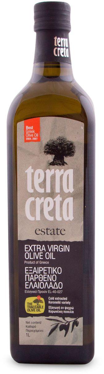 Terra Creta Extra Virgin оливковое масло, 1 лУТ000000498Оливковое масло с прекрасным фруктовым ароматом, с оттенком груши и миндаля, присущий сорту Коронеики используемому для производства этого оливкового масла.