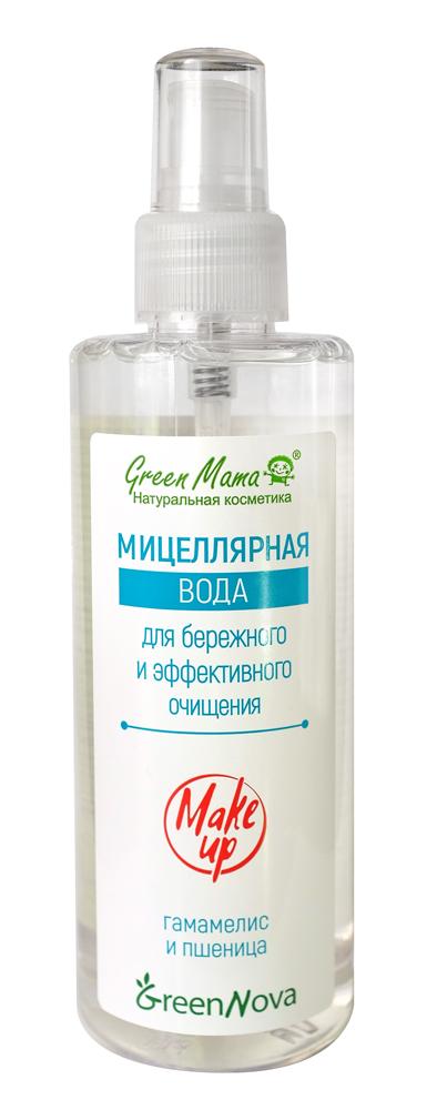 Мицеллярная вода Green Mama для бережного и эффективного очищения, 200 млSC-00016Мицеллярная вода – это мягкое очищающее средство для быстрого и бережного очищения, которое удаляет макияж и ухаживает за кожей. Благодаря составляющим основу средства очень маленьким частицам (мицеллам), которые отталкивают грязь с поверхности, не повреждая ее, кожа очищается мягко и деликатно. Для ещё более нежного и эффективного ухода в состав средства входят Д-пантенол, экстракты гамамелиса и пшеничных зародышей. Д-пантенол активно участвует в процессе восстановления и регенерации тканей. Экстракт гамамелиса богат флавоноидами и особыми веществами – танинами, обладающими высокими антибактериальными свойствами. Применение экстракта зародышей пшеницы активно стимулирует клетки, их омоложение и обновление, способствует увлажнению эпидермиса и питанию его микроэлементами.