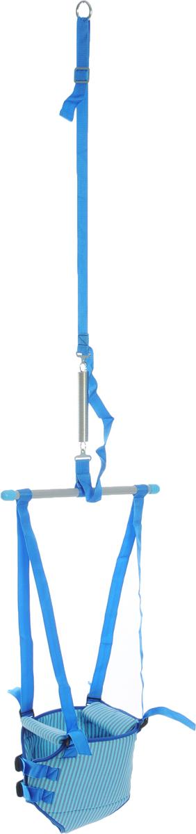 Фея Тренажер-прыгунки 2 в 1 цвет голубой - Ходунки, прыгунки, качалки