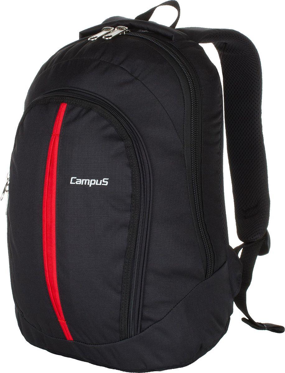 Рюкзак туристический Campus Look, цвет: черный. 5038025162101 - Туристические рюкзаки